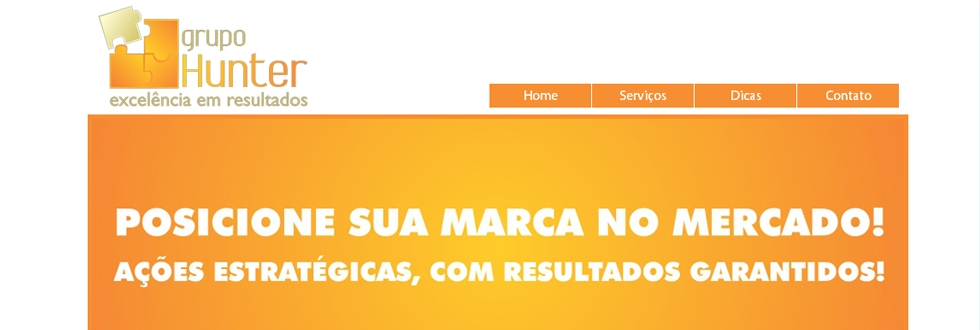 Site - Grupo Hunter Consultoria