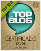 Prêmio do top 100 blog!